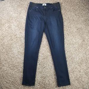 PAIGE| Maternity dark wash ultra skinny jeans 30